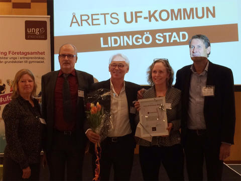 Lidingö årets UF-kommun