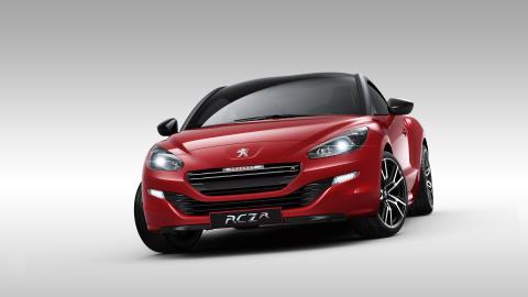 RCZ R med sin sportiga design