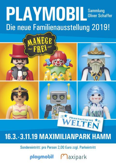PLAYMOBIL-Filmstars im Maximilianpark Hamm