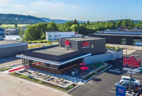 Skien blir nästa etablering när MAX fortsätter expandera i Norge