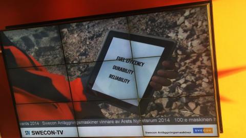 Från digitalt nyhetsrum till Swecon-TV