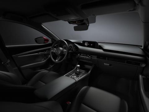 Mazda3 Hatchback med svart interiör