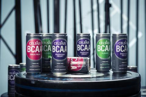 Celsius lanserar nytt BCAA-koncept