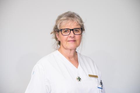 Bodil Petersén, smittskyddssköterska