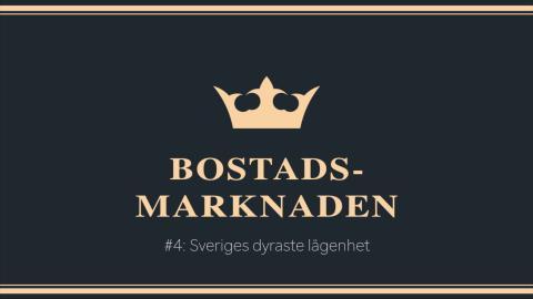 #4: Sveriges dyraste lägenhet