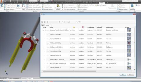 Neue Version von PRO.FILE bietet PDM/PLM-Funktionalität für AutoCAD 2016