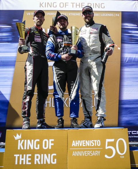Ny seger för Mattias Lindberg på Ahvenisto