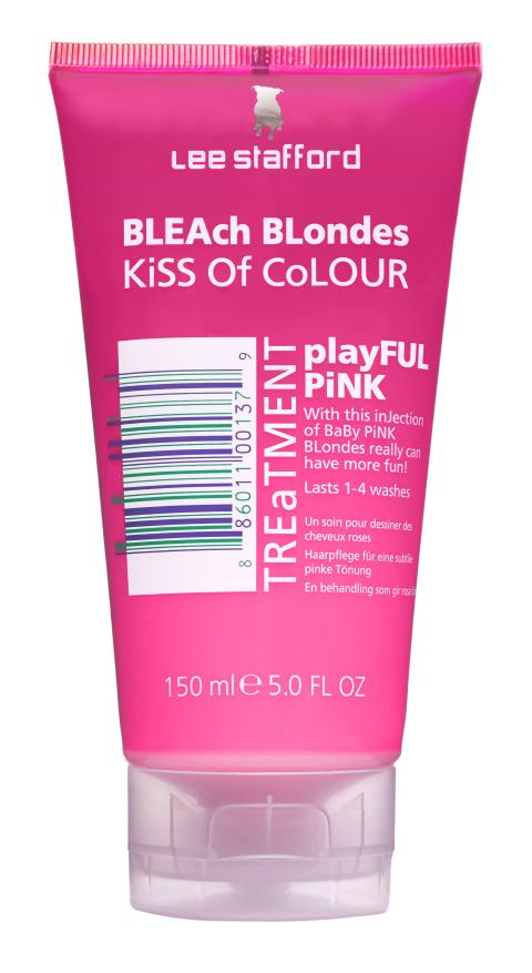 Lee Stafford Bleach Blondes Kiss of Colour Pink Treatment