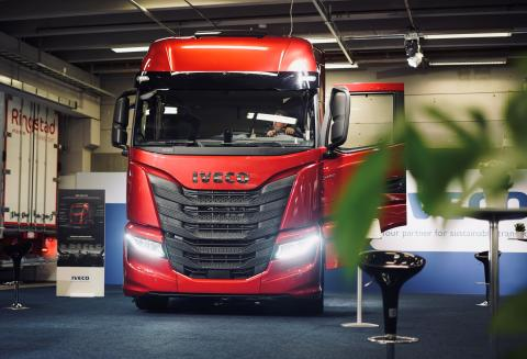 Norgespremiere for nye Iveco S-Way