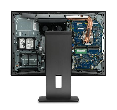 HP Z1 G3 bakside
