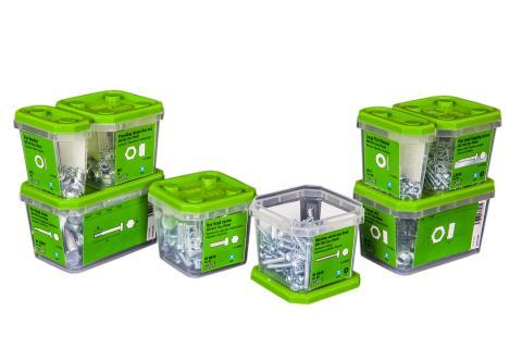 ESSBOX System breddas med bult och mutter