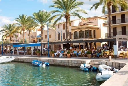 Port de Andratx på Mallorca