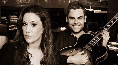 Singelaktuella Lisa Nilsson och Erik Söderlind på jazzturné i höst