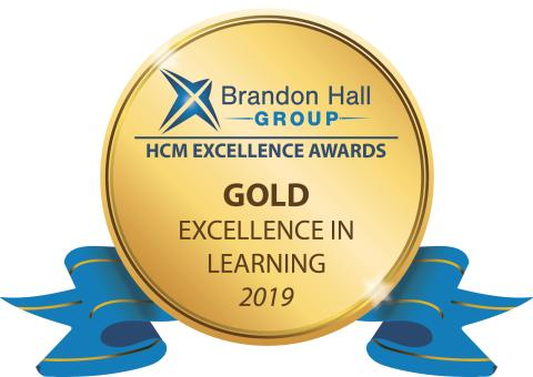 Milestone Systems Wins Gold Award For Excellence in Learning from Brandon Hall Group