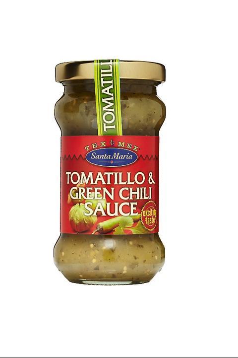Santa Maria Tex Mex Tomatillo & Green Chili Sauce