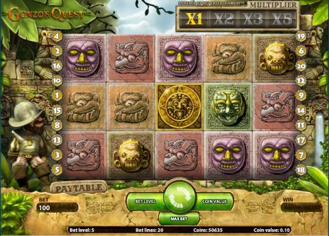 Vera&John player wins €40,000 in one spin at Gonzo´s Quest