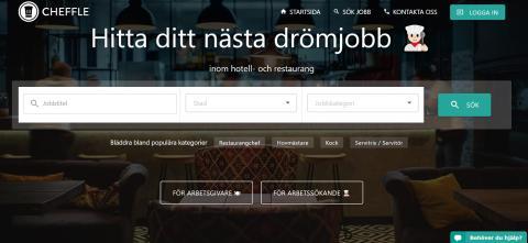 Martin & Servera lanserar Cheffle, tjänst som underlättar rekrytering för restauranger