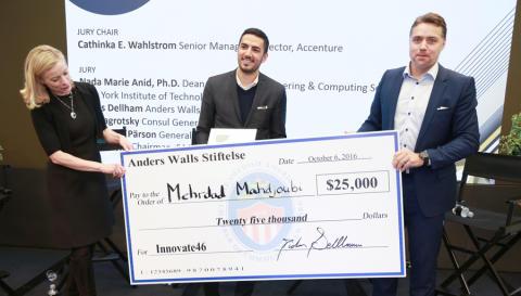 Anders Wall Entrepreneur of the Year Award till miljöteknikföretag
