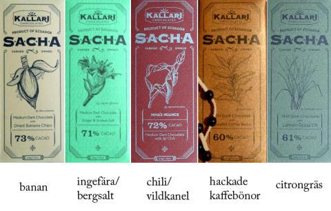 Kallari: krämig ekologisk choklad som är mer rättvis