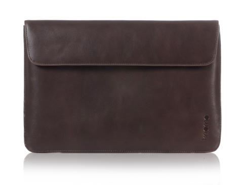 "Elegant 13"" læder kuverttaske til Macbook Air."