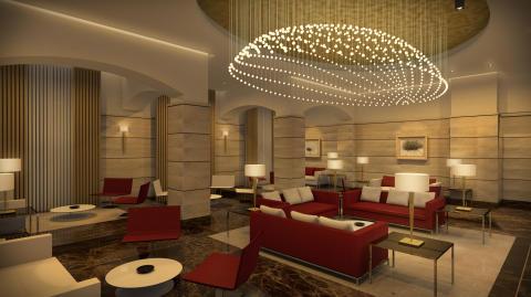 Elegantes Ambiente im renovierten Maritim Antonine Hotel & Spa
