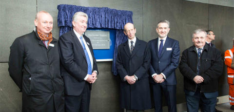 Duke of Kent opens Rochester