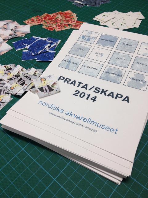 Workshop: Prata/Skapa 2014