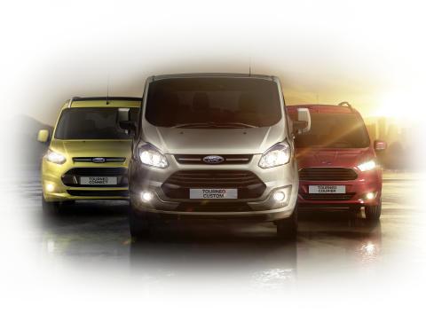 Ford Tourneo perhe valmiina markkinoille