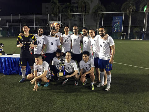 The NIST Falcons: Champions at the 2nd NIST Inter-School Alumni Soccer Tournament
