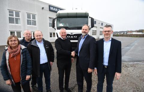Ny stærk MAN forhandler i Nordjylland. MAN indleder spændende samarbejde med Uggerhøj koncernen