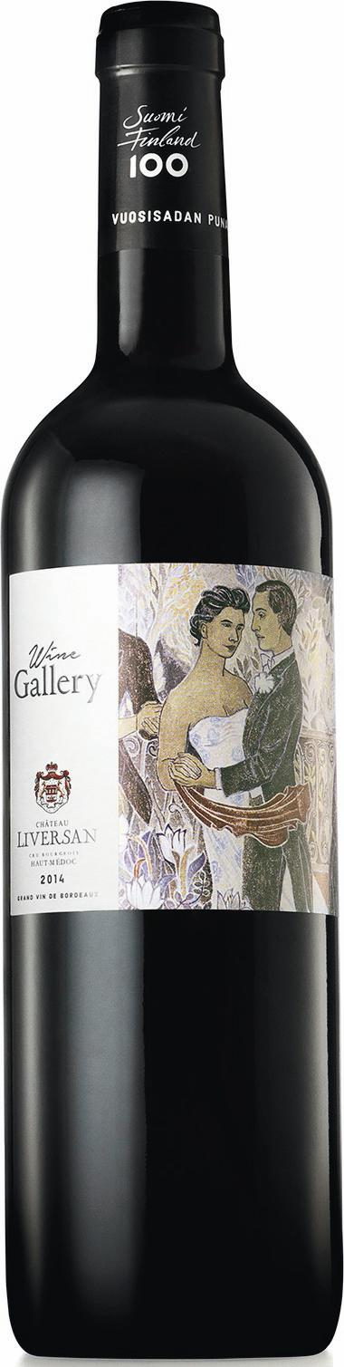 Wine Gallery Suomi Finland 100 Bordeaux Rouge