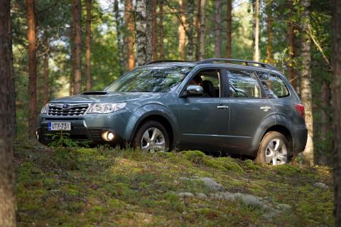 Prestigefyllt pris till Subaru Forester