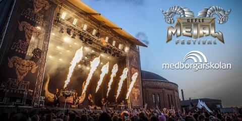 Framtidens svenska artister till Gefle Metal Festival