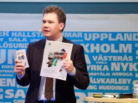 Johan Hjelm presenterar En Bättre Sits i världen