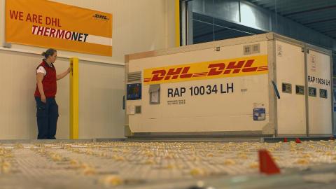 DHL lanserar ny temperaturreglerad flygfraktservice