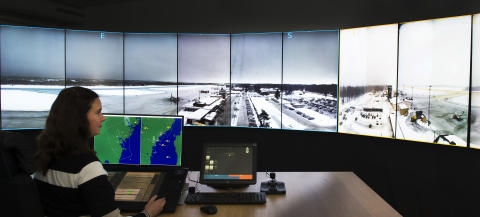 Fjärrstyrd flygtrafikledning till Scandinavian Mountains Airport