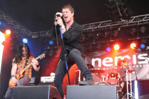 Ammotrack klara för Nemisscenen på Sweden Rock Festival