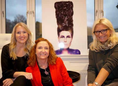 Silje Løken, Nanna Øyen og Cathrine Stamnes