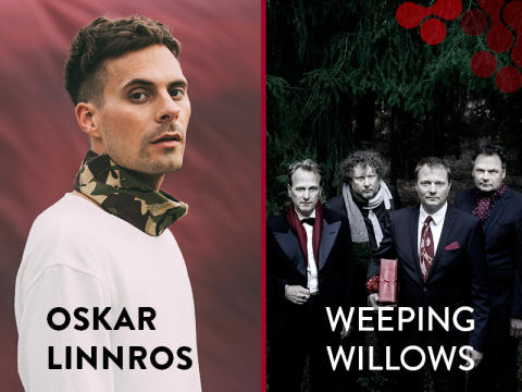 Oskar Linnros och Weeping Willows - Två efterlängtade publikdragare till Kulturens hus i höst