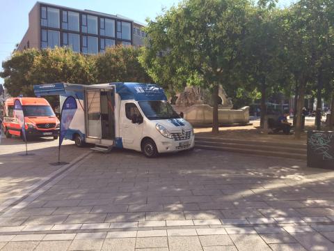 Beratungsmobil der Unabhängigen Patientenberatung kommt am 23. September nach Trier.