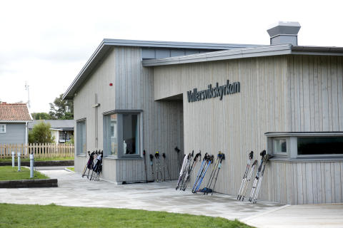 Stadsmiljö 3, Vallersvikskyrkan i Frillesås