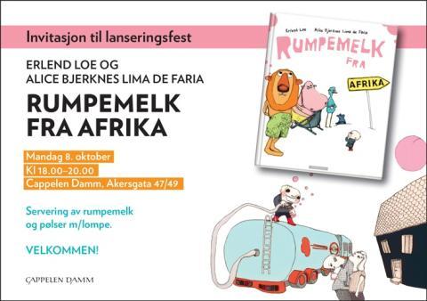 Velkommen til lansering: Rumpemelk fra Afrika