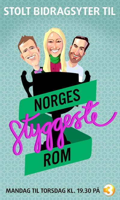 Se Villeroy & Boch/Gustavsberg på Norges Styggeste Rom på TV3 onsdag 22.1 kl. 19.30