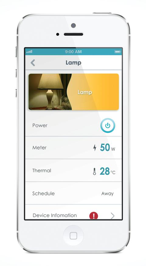 mydlink Home App - Lamp