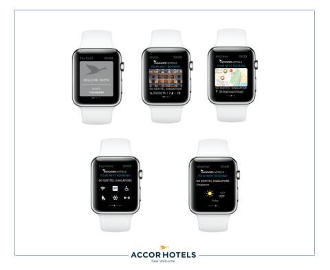 AccorHotels Apple Watch