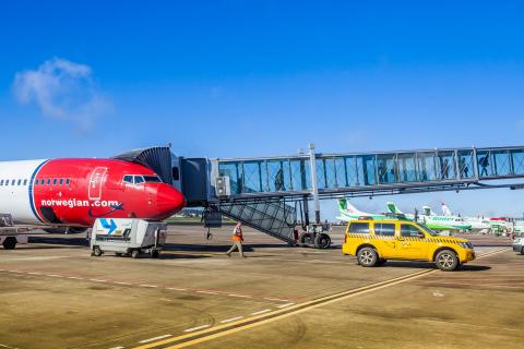 Norwegian incrementa este verano en un 19% el número de plazas semanales entre Canarias y la Península