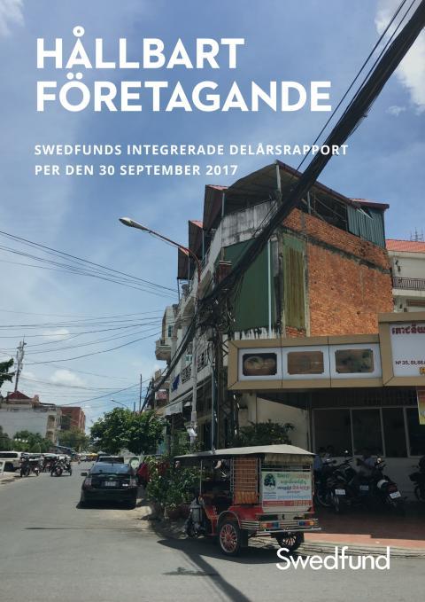 Swedfunds integrerade delårsrapport juli-september 2017