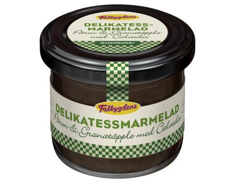 Delikatessmarmelad Päron/Granatäpple/Calvados