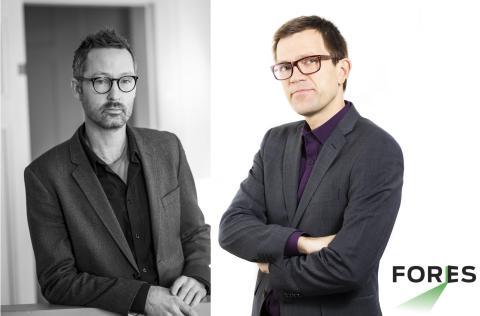 Fores stärker sin tvärvetenskapliga förankring: rekryterar Stefan Larsson