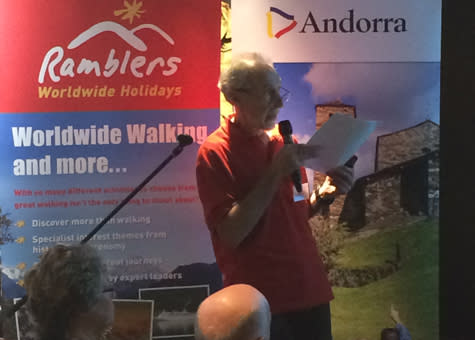 Ramblers Worldwide Holidays and Turisme Andorra Promote Walking Holidays
